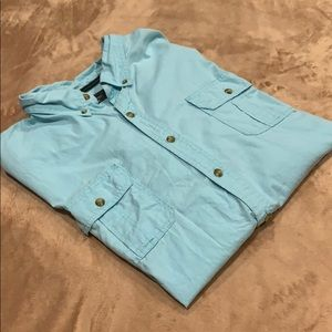G.H Bass and Co Short Sleeve Button down